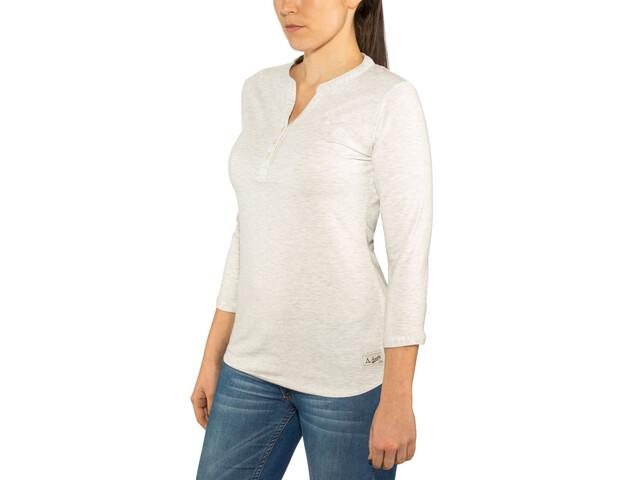 Schöffel Johannesburg Camiseta de manga larga Mujer, white alyssum